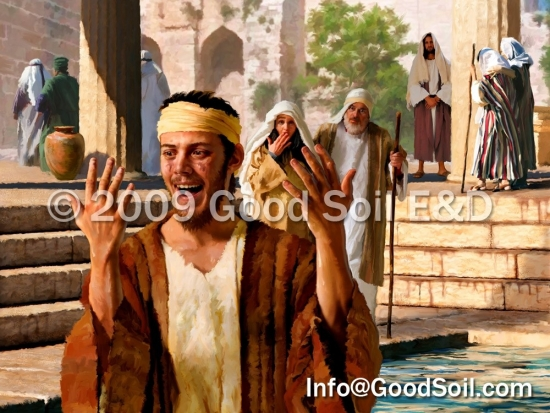 NT-14 Jesus' Power over Blindness