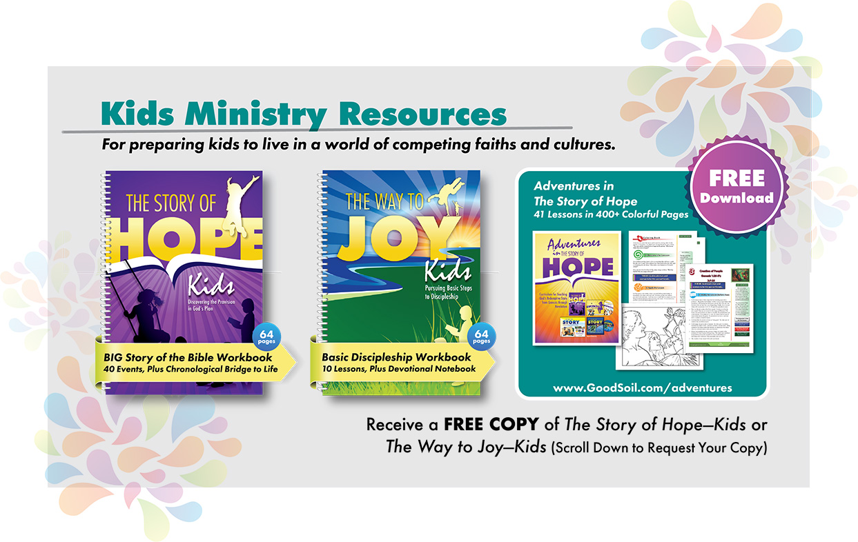 Children's Ministry Lessons & Resources | Good Soil - Good