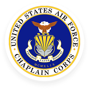 US Air Force Chaplain Corps Badge