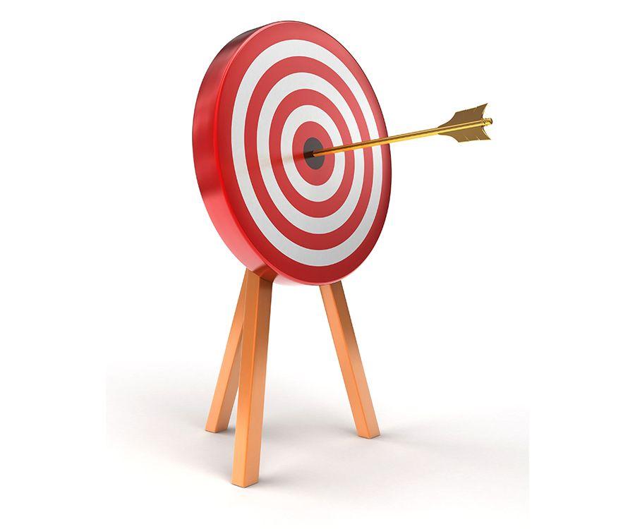 arrow bullseye